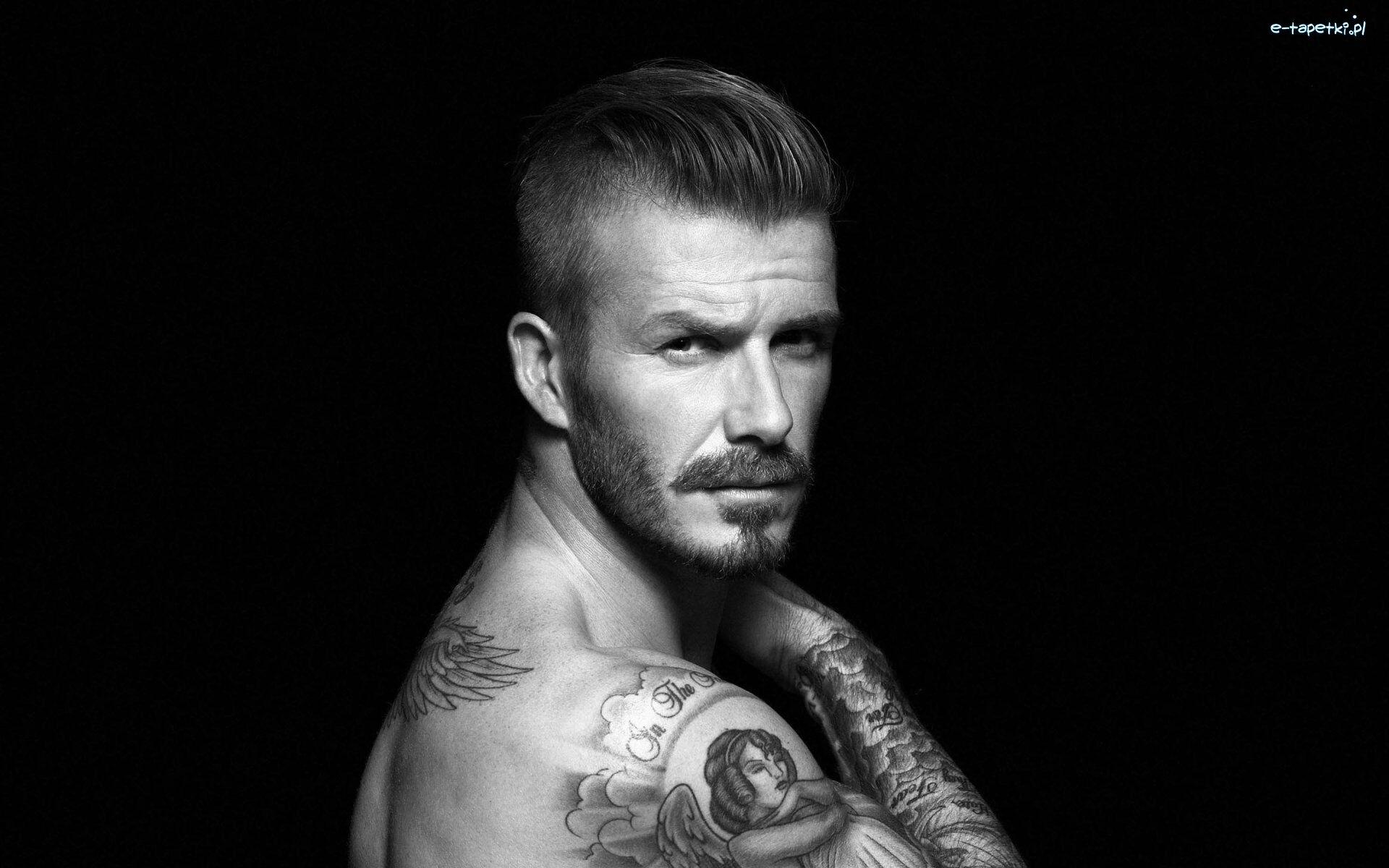 David Beckham Piłkarz Tatuaż