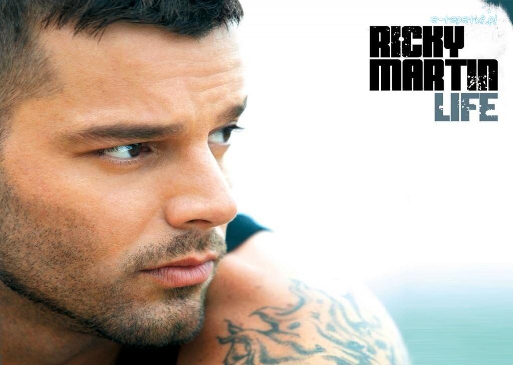 Ricky Martin Tatuaż