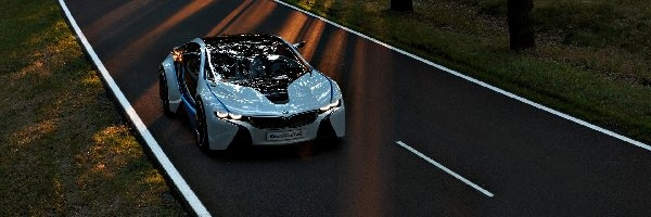 BMW Vision ConnectedDrive, BMW i8, Prototyp