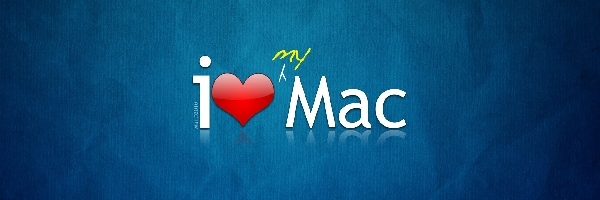 Apple, Mac, Napis