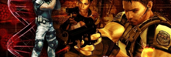 Resident Evil 5, Bohaterowie