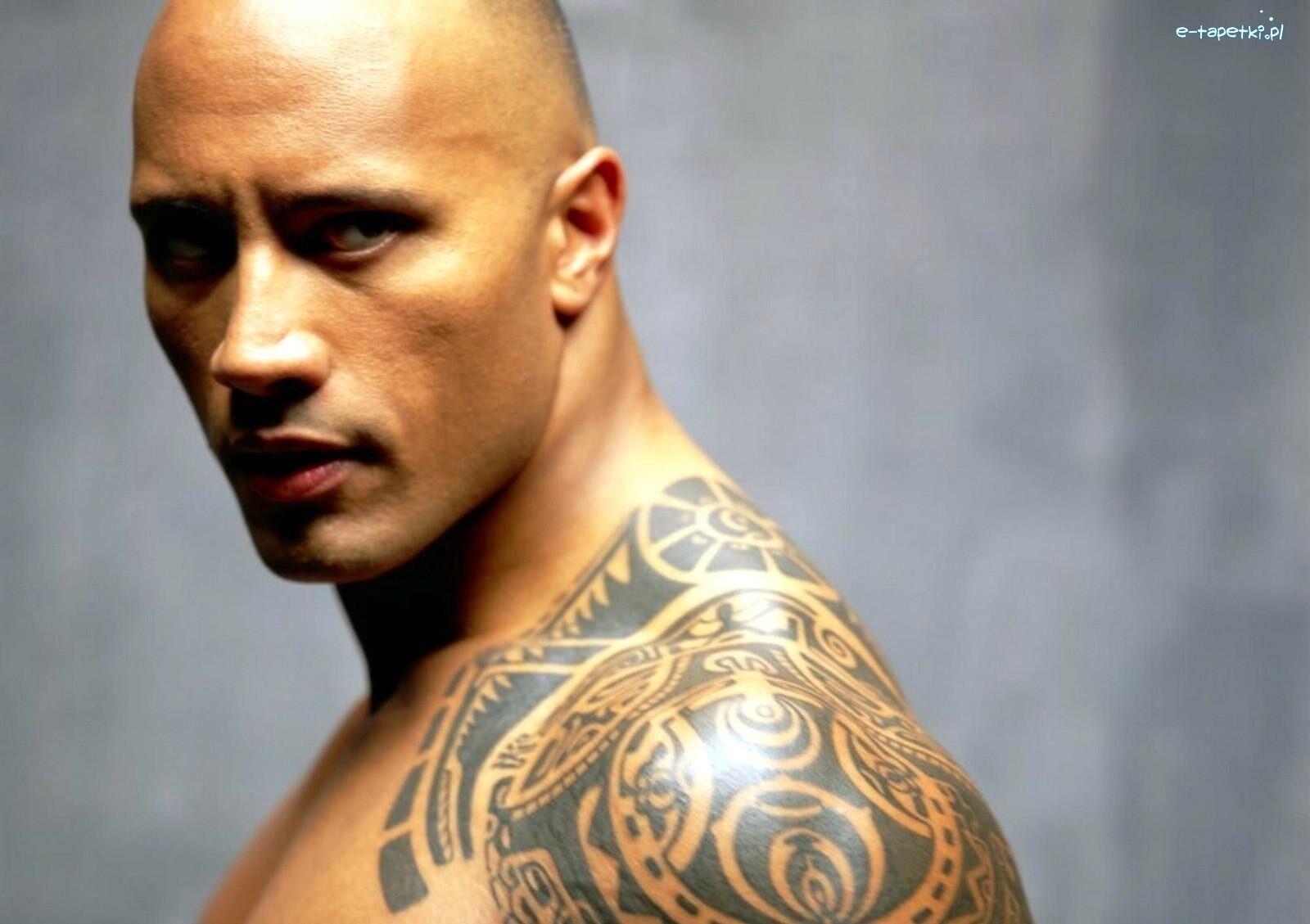Dwayne Johnson Tatuaż