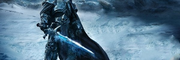 Arthas, World of Warcraft Wrath of the Lich King, Gra, Postać, Miecz, Król Lisz